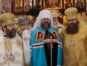 Metropolitan Jonah at Enthronement