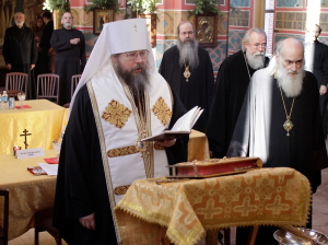 Holy Synod meets on December 29 2008