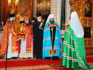 Metropolitan Jonah and Patriarch Kirill