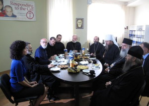 Metropolitan Jonah visits IOCC Office in the Georgian capital