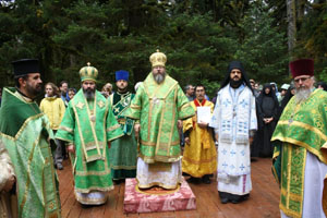 Pilgrims from North America, Russia celebrate 40th Anniversary of Saint Herman's glorification on Spruce Island