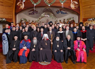 Twenty-six students receive degrees from St. Vladimir's Seminary