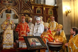 OCA represented at the Fifth Anniversary of the enthronement of Metropolitan Christopher