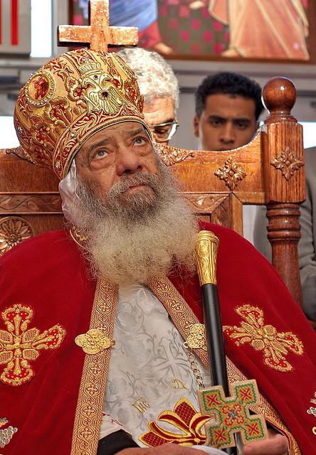 Condolences Sent To Coptic Church On The Repose Of Pope Shenouda Iii
