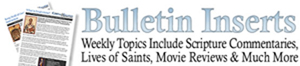 Department of Christian Education offers weekly bulletin inserts on-line