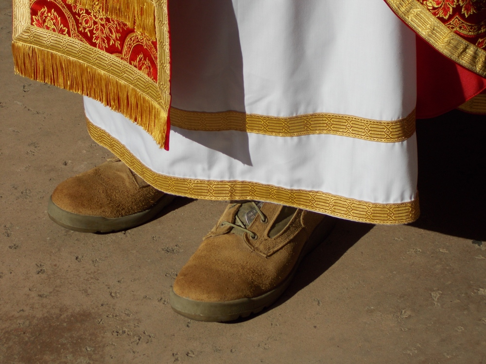 Chaplains boot