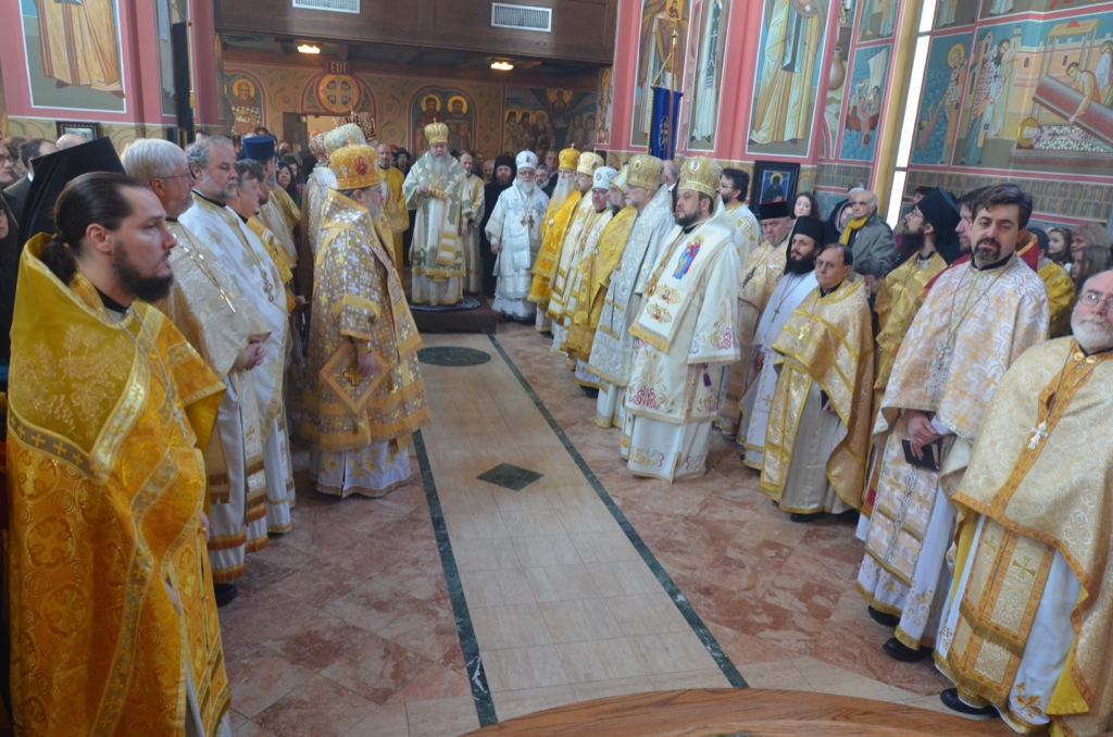 Metropolitan Tikhon's enthronement
