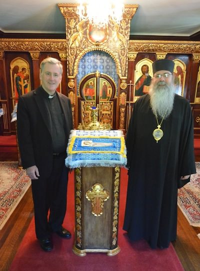 Fr. Peter West and Metropolitan Tikhon