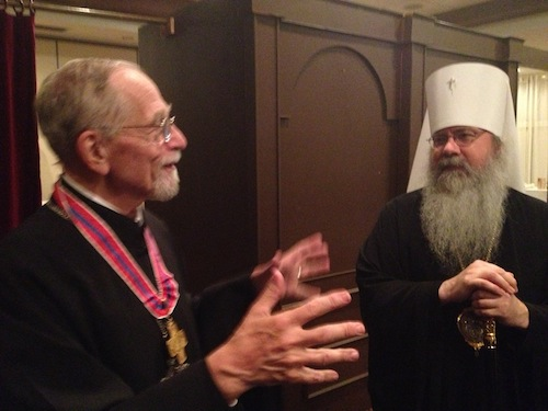 Fr. Thomas Hopko and Metropolitan Tikhon