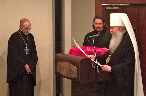 Fr. Thomas Hopko receives award