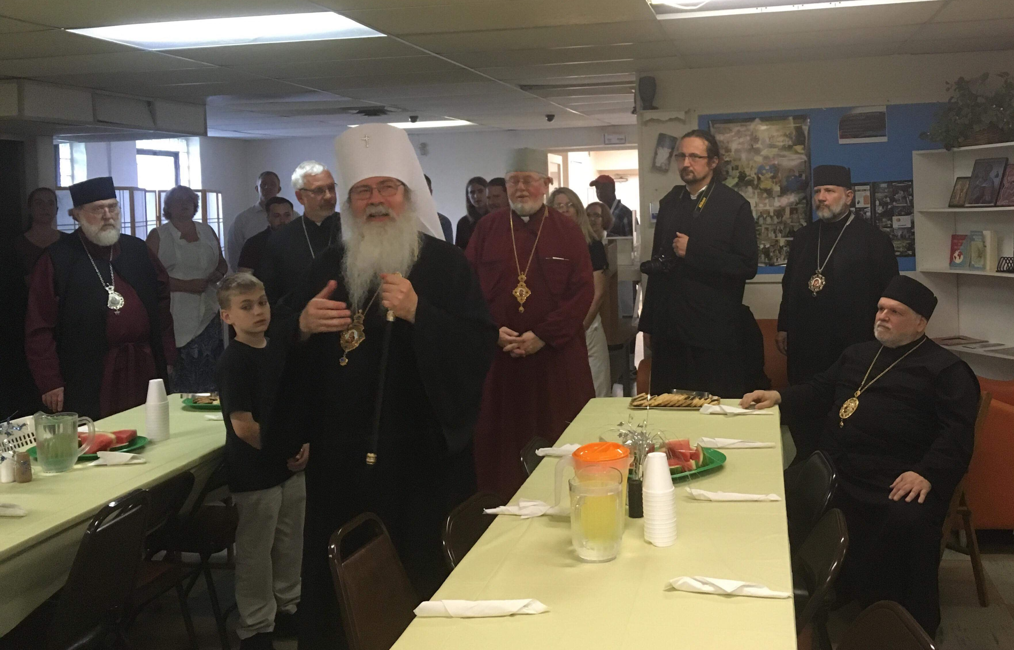 Holy Synod, AAC Youth visit FOCUS North Americas St