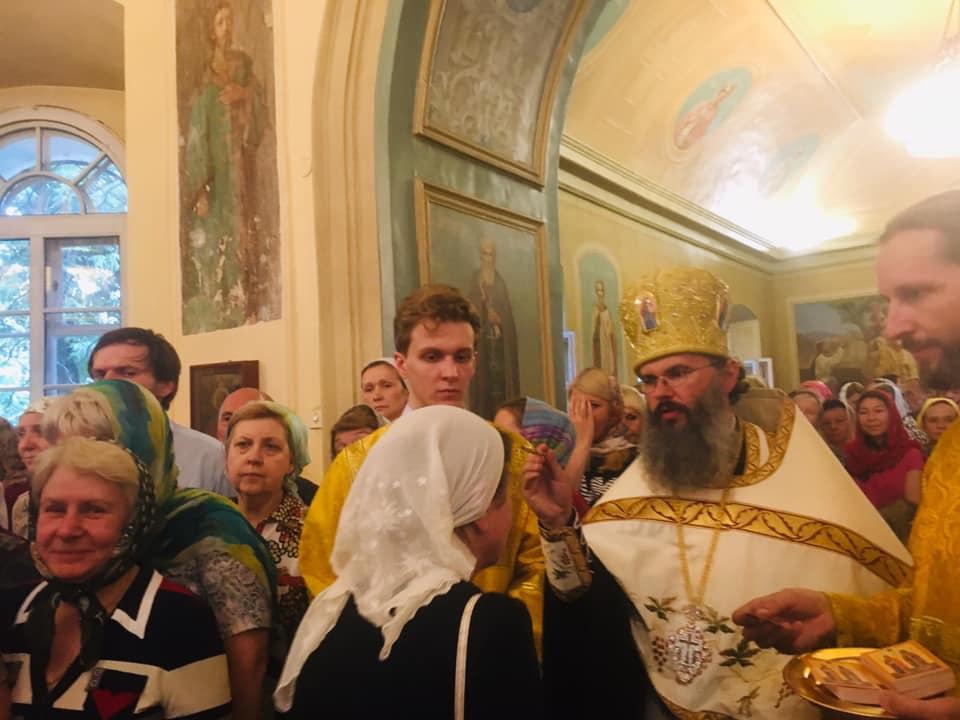 Archbishop Irénée participates in celebrations in