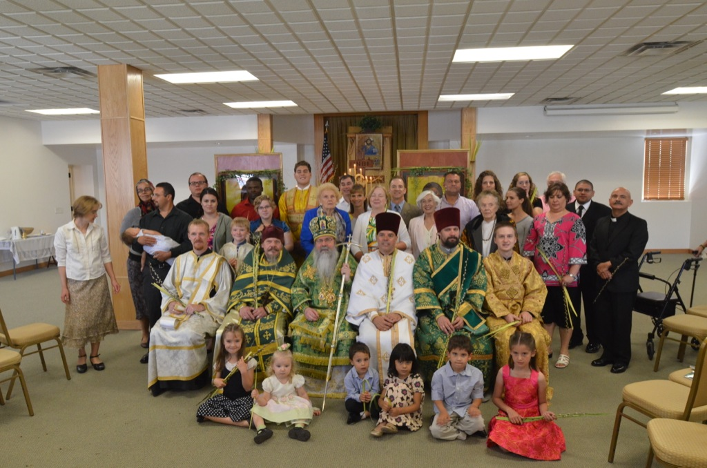 Palm Sunday at Ft Bliss