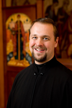 Archdeacon Christopher Kirill Sokolov Архидиакон Кирилл Соколов